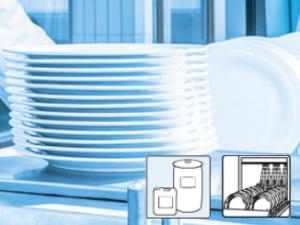 Flüssigreiniger für Geschirrspülmaschinen