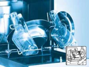 Aufbereitung von Steckbecken & Urinflaschen
