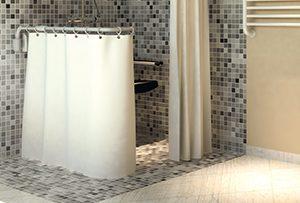 Duschspritzschutz