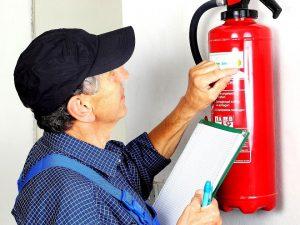 Feuerlöscher - Überprüfung