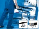 Aufbereitung von Bettgestellen, OP-Tischen & Transportwagen